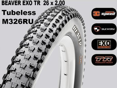 Maxxis Tubeless Beaver + EXO TR Foldable