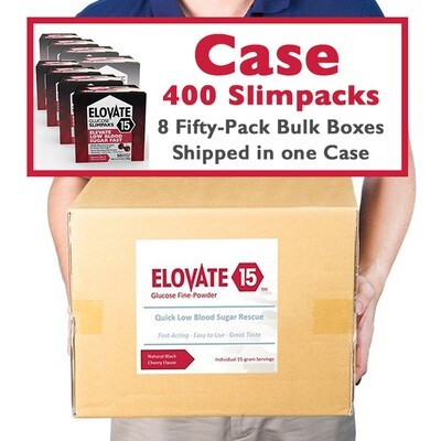 Case of 400 Slimpaks (8 Fifty-Pack Bulk Boxes)