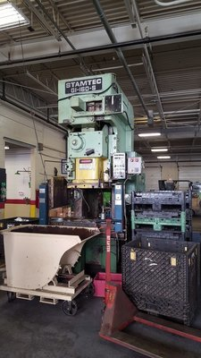 160 Ton Press For Sale Stamtec Press
