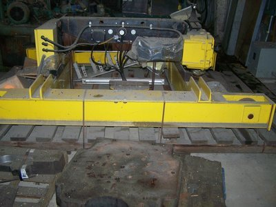 15 Ton Capacity R & M Overhead Bridge Crane For Sale