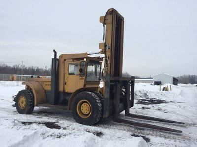 40,000lb Hyster Air-Tire Forklift For Sale 20 Ton