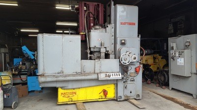 Mattison Rotary Surface Grinder For Sale 42