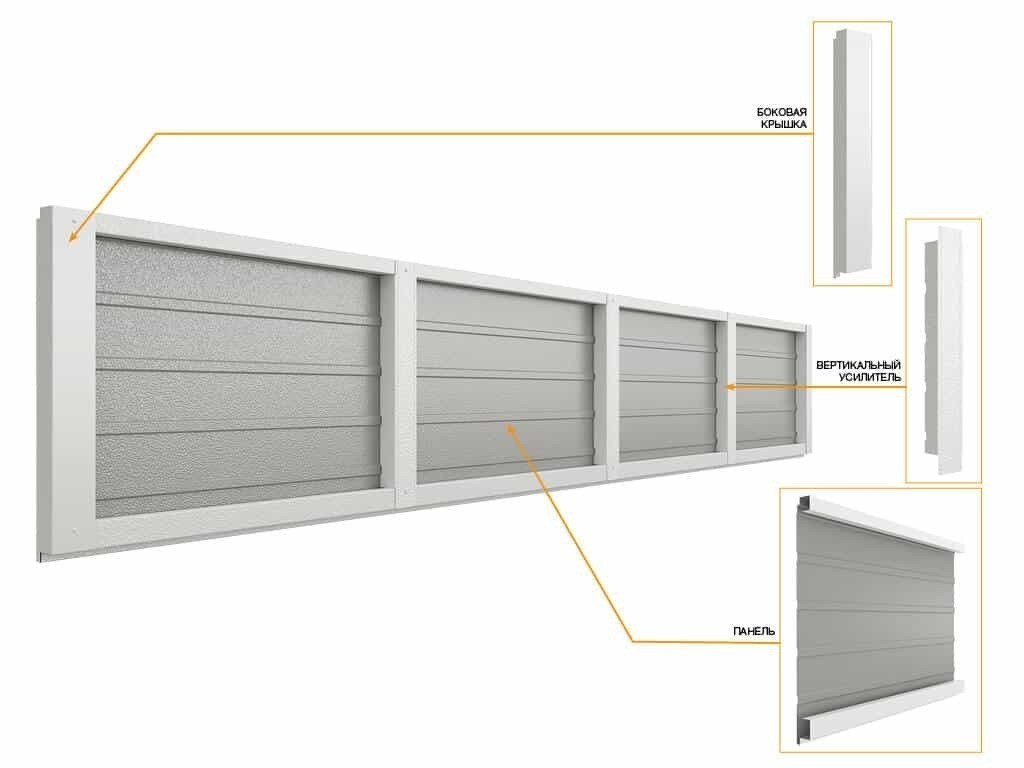 DOORHAN RSD02 SLP  (Торсионный механизм) 2000*2900 (ширина*высота)