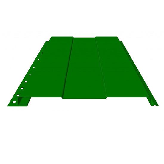 САЙДИНГ Стандарт полиэстер одностороннее покрытия RAL 1018, 2004, 3020, 4005, 4006, 8004. (с полосой)