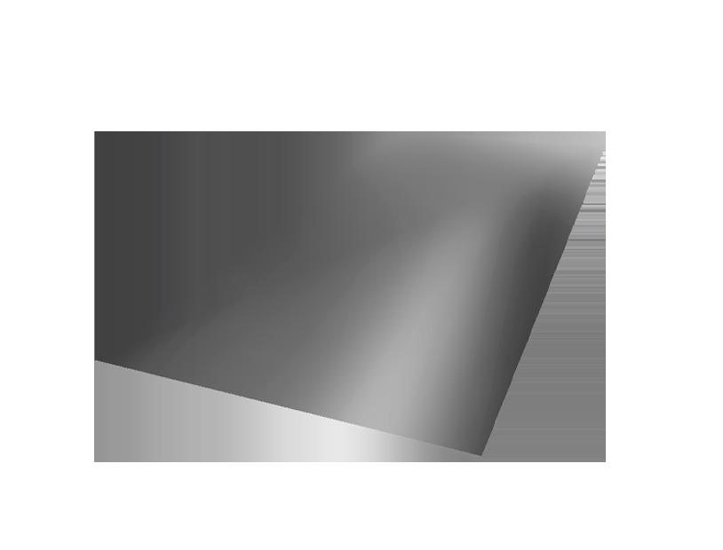 Гладкий лист стандарт оцинкованный 0,65 мм.