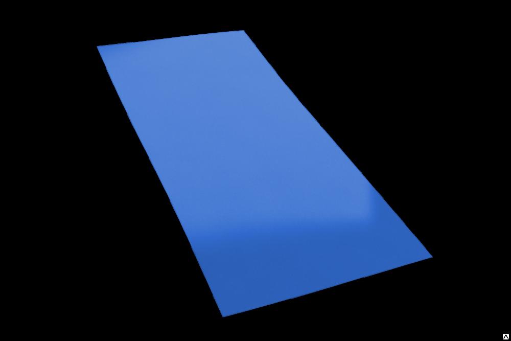 Гладкий лист эконом полиэстер 0,40 мм.