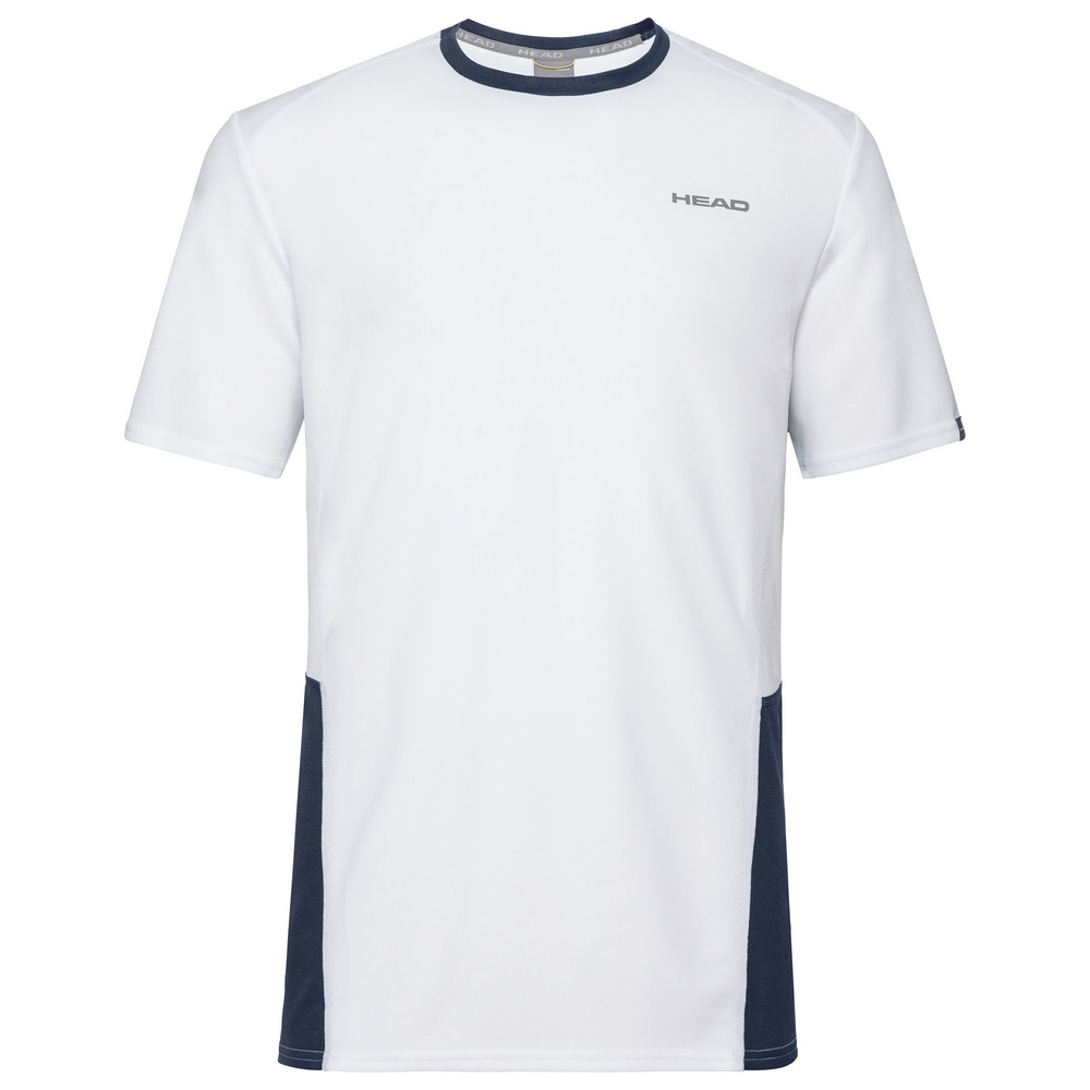 Head Boys Club Tech T-Shirt - White/Blue