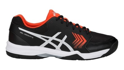 Asics Gel Dedicate 5 - Black/Orange