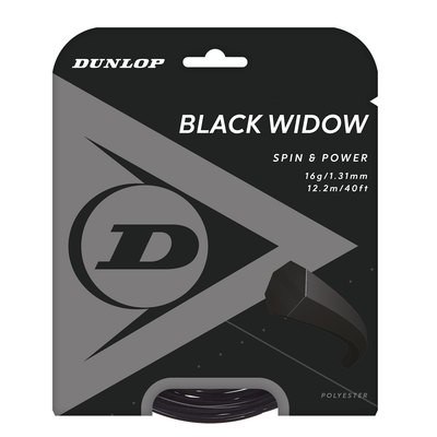 Dunlop Black Widow Tennis String - 12m Set