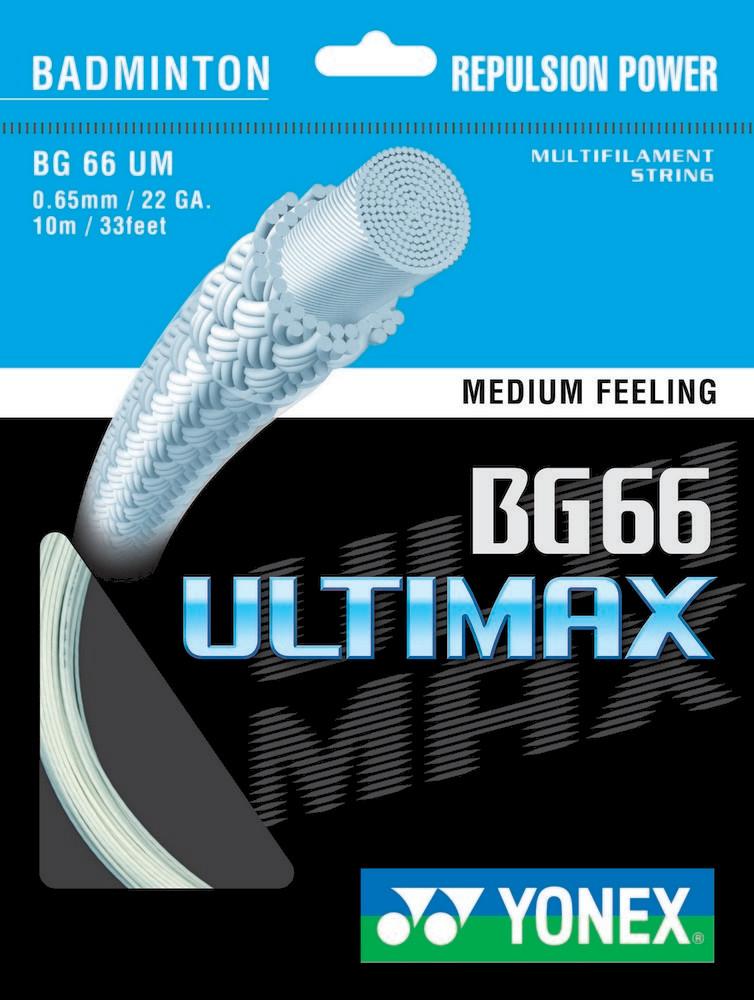 Yonex BG66 Ultimax Badminton String Set
