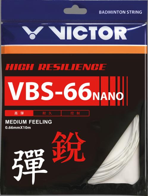 Victor VBS-66 Nano Badminton String Set