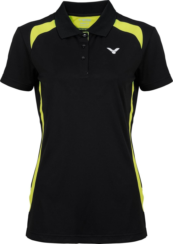 Victor Function Polo Shirt Ladies - Black