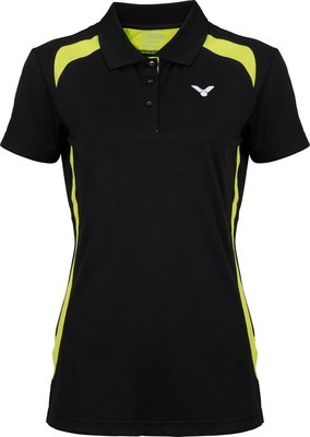 Victor Function Polo Shirt Ladies - Black