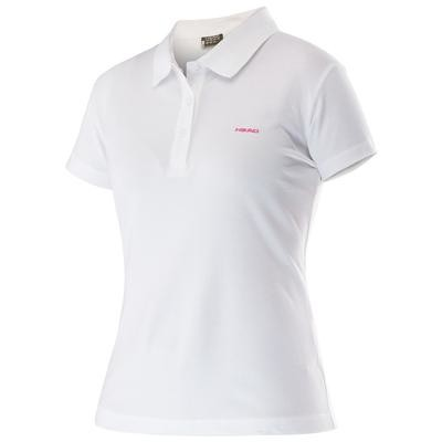 Head Mary Polo Shirt - White
