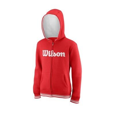 WIlson Youth Team Script Hoodie - Red