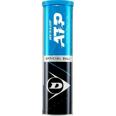 Dunlop ATP Tennis Balls - 4 Ball Can