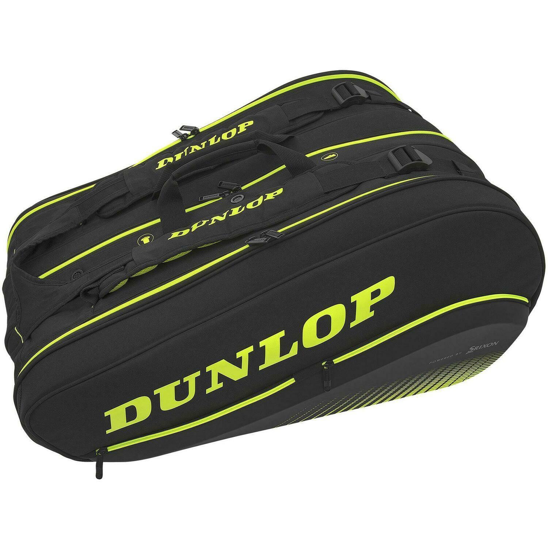 Dunlop SX Performance Thermo 12 Racket Bag Yellow/Black