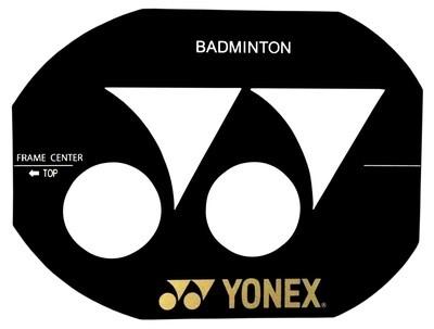 Yonex Badminton Stencil Card