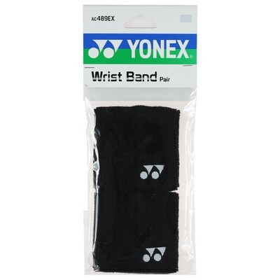 Yonex Wrist Bands - Pair - Black