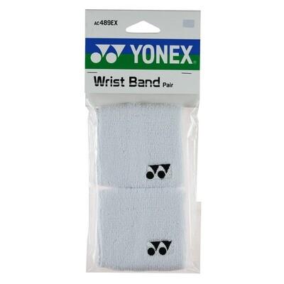 Yonex Wrist Bands - Pair - White