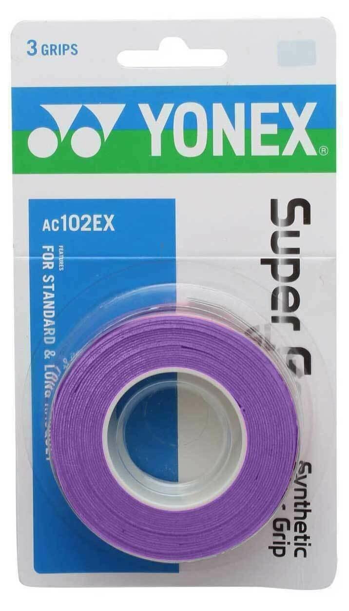 Yonex Super Grap - 3 Pack - Purple