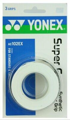 Yonex Super Grap - 3 Pack - White