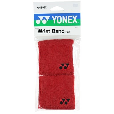 Yonex Wrist Bands - Pair - Red