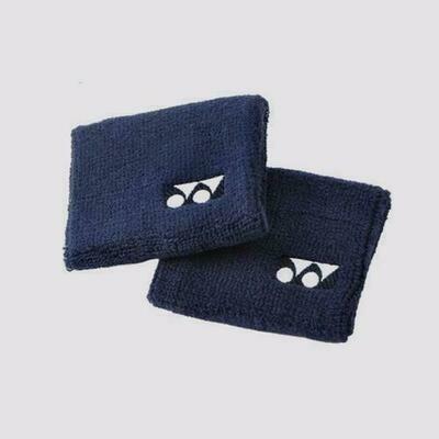 Yonex Wrist Bands - Pair - Navy Blue