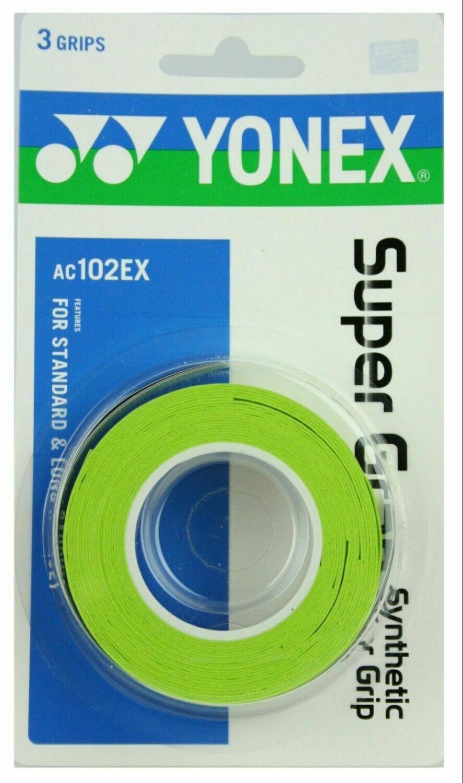Yonex Super Grap - 3 Pack - Green