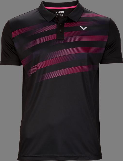 Victor Team Line Polo Unisex - Black