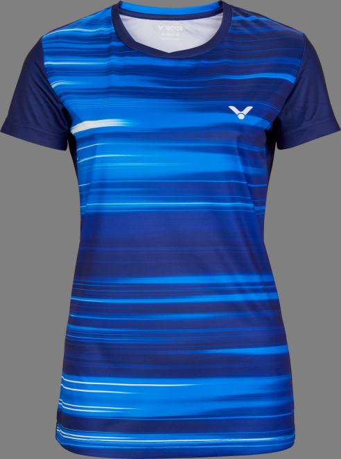Victor Team Line T-Shirt Ladies - Blue
