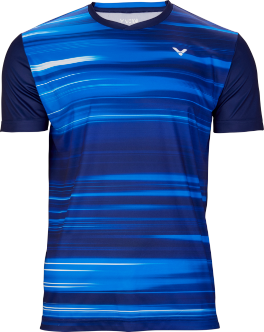 Victor Team Line T-Shirt Unisex - Blue