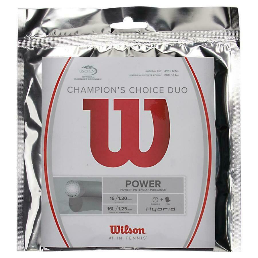 Wilson Champions Choice Duo String Set