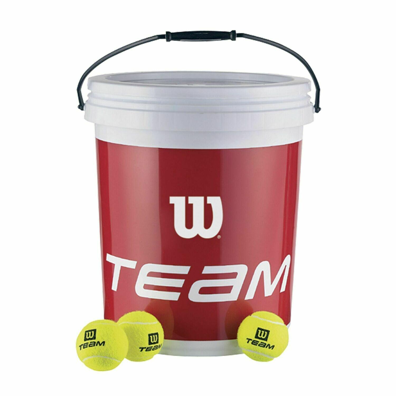 Wilson Trainer Tennis Balls Bucket - 6 Dozen