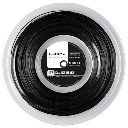 Luxilon Savage 127 200m Reel - Black