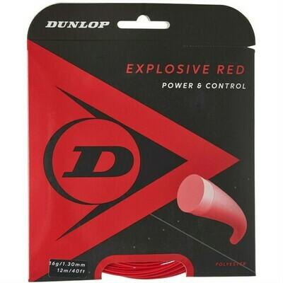 Dunlop Explosive Red Tennis String - 12m Set
