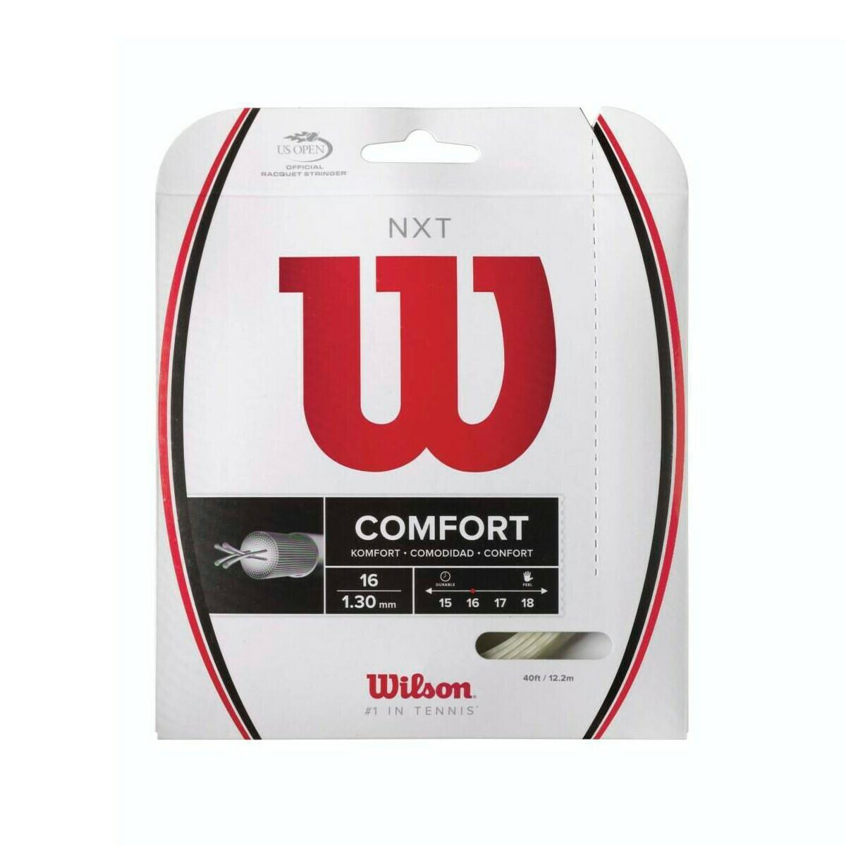 Wilson NXT Comfort 16 Tennis String Set