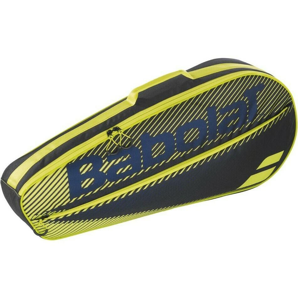 Babolat Essential 3 Racket Bag - Black/Yellow