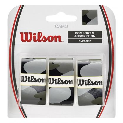 Wilson Pro Comfort Overgrip Camo Black - 3 Pack