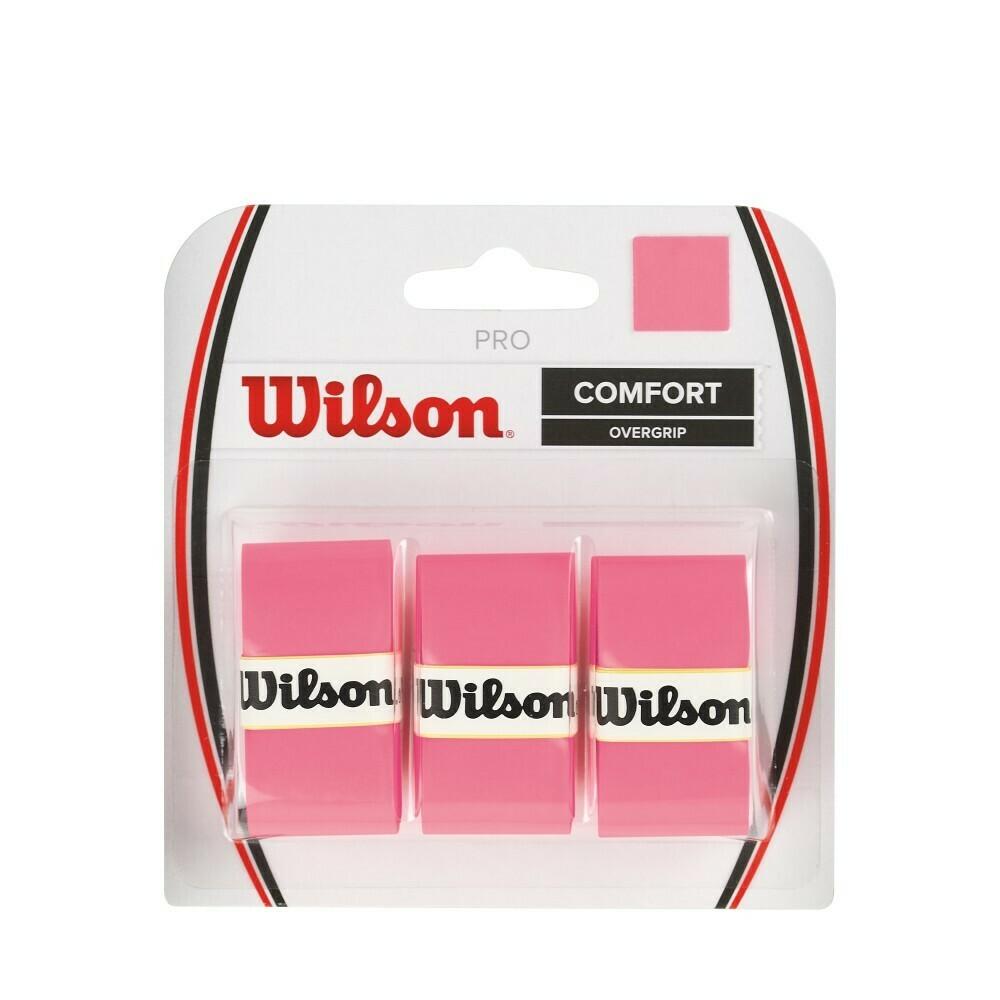 Wilson Pro Comfort Overgrip Pink - 3 Pack