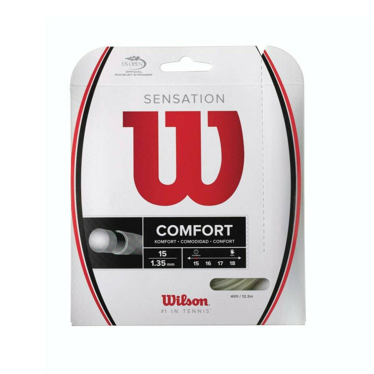Wilson Sensation Comfort 16 Tennis String Set