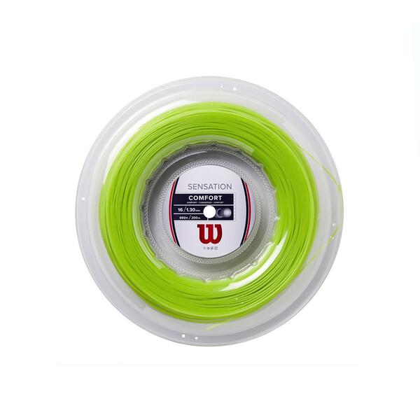 Wilson Sensation Comfort 200m Reel - Neon Green