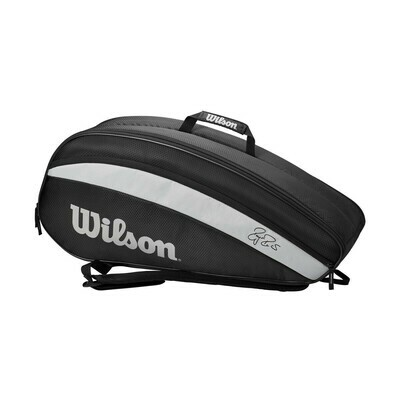 Wilson Federer Team Bag - 6 Pack