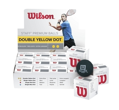 Wilson Staff Premium Squash Balls - Box of 12