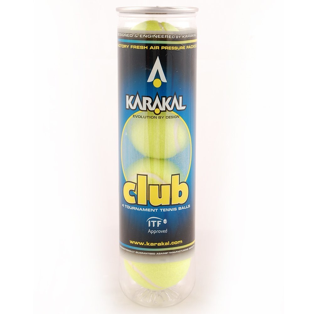 Karakal Club Tennis Ball - 4 Ball Can