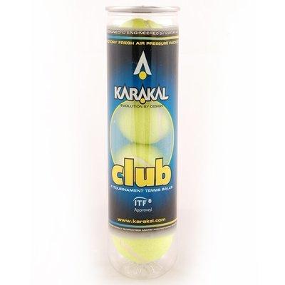 Karakal Club Tennis Ball - 4 Ball Can