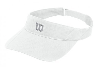 Wilson Rush Knit Ultralight Visor - White