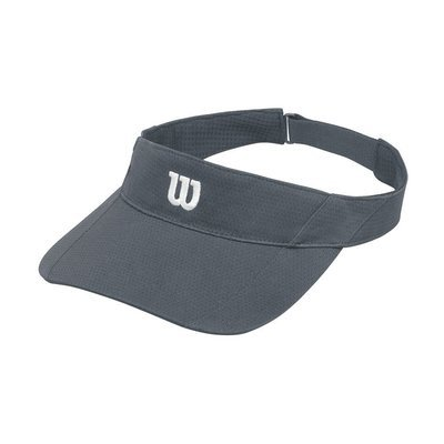 Wilson Rush Knit Ultralight Visor - Turbulence Grey