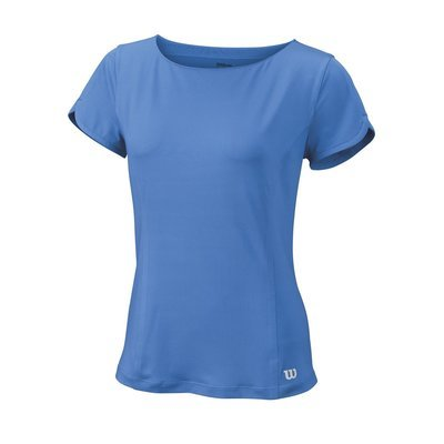 Wilson Cap Sleeve Top - Regatta Blue