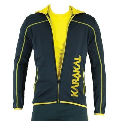 Karakal Pro Tour Hooded Jacket - Graphite